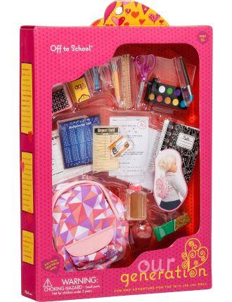 School Gear Accessory Set