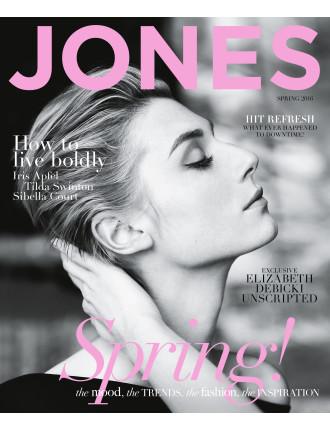 Jones Magazine Spring