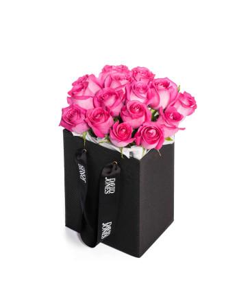 25 Pink Premium Roses
