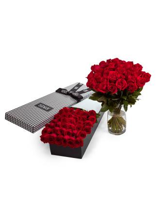 36 Red Premium Long Stem Roses