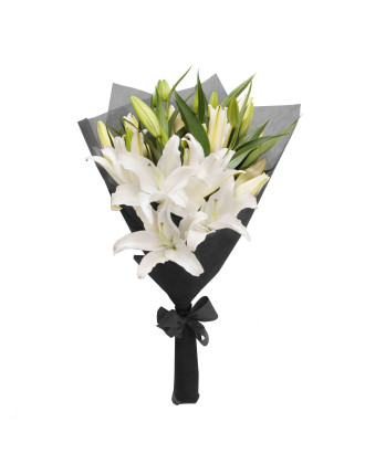 Kismet White (10 Stems)