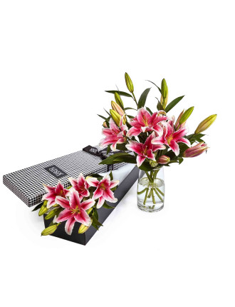 Fragrant Lilies