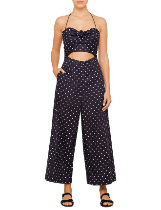 Zimmermann Swim Prima Dot Jumpsuit