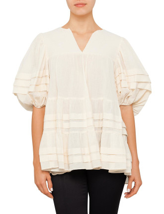 Zimmermann Swim Prima Tuck Swing Top