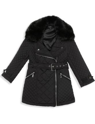 Quilted Coat (Girls 8-14 Years)